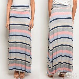 Dresses & Skirts - Striped Maxi Skirt